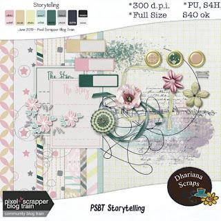 PSBT June Blogtrain Storytelling
