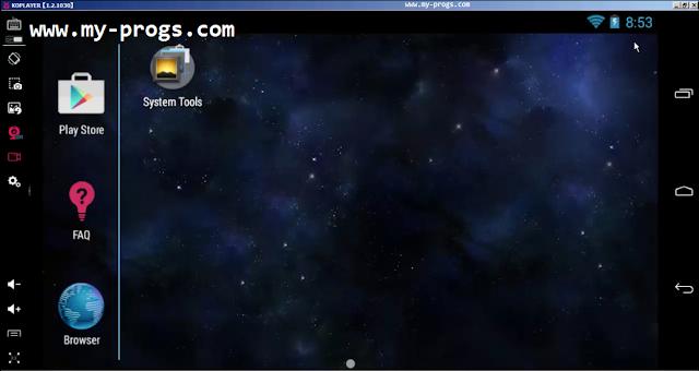 تحميل برنامج KOPLAYER لتشغيل برامج وألعاب الاندرويد على الكمبيوتر