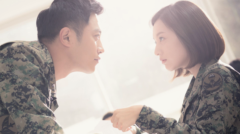 Descendants of the sun - Kim Ji-won and Jin Goo