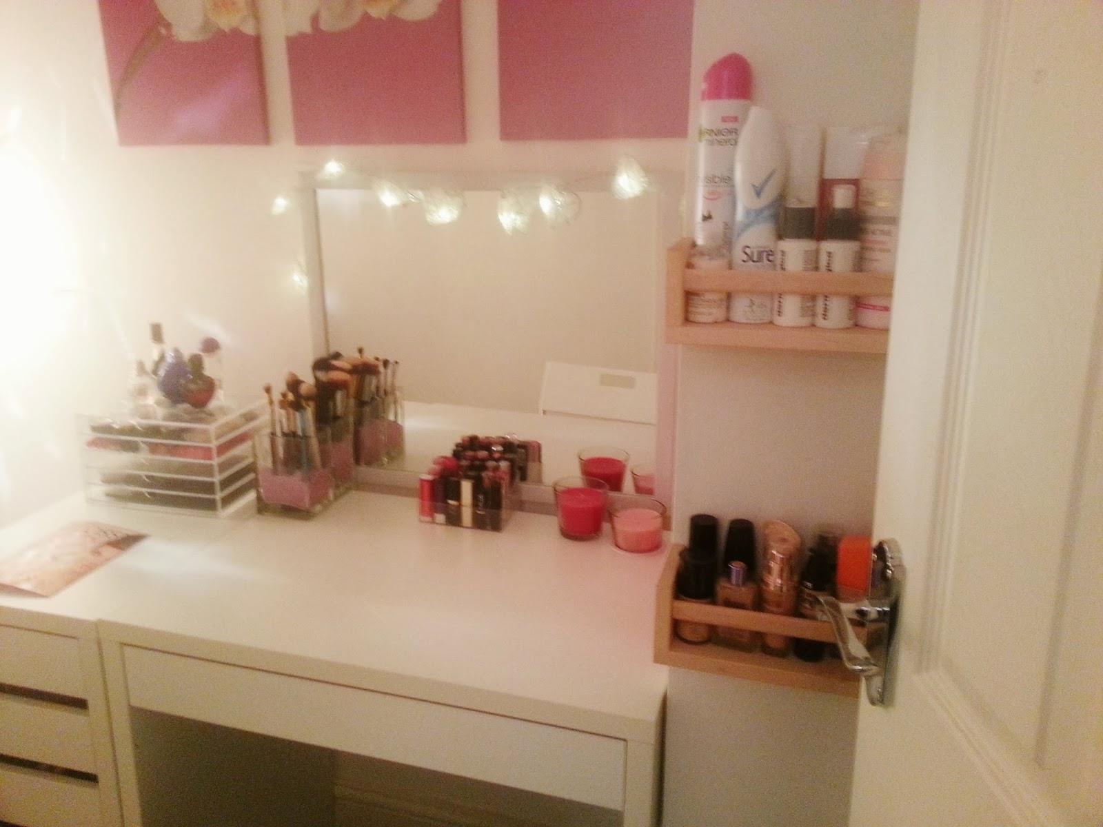 1000 images about room ideas on pinterest makeup desk ikea micke desk and makeup vanities. Black Bedroom Furniture Sets. Home Design Ideas