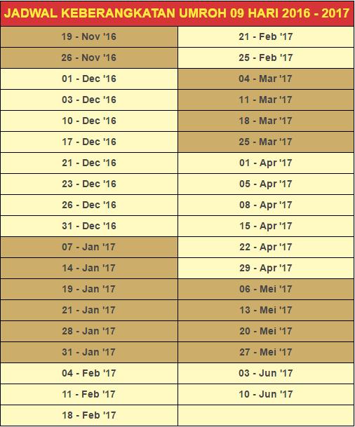 Paket Umroh Bulan Januari 2017, Awal Tahun Berumroh Ke Baitulloh !