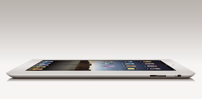 PSD iPad Side View