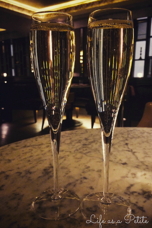 The Strand Dining Rooms Review - Champagne
