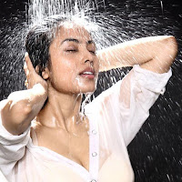 Hot and bold Meenakshi wet look and more spicy photos