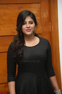 Anjali in Black Short Dress at Chitrangada Movie Success Meet ~  026.JPG