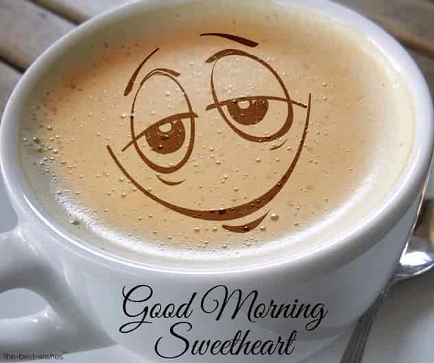 good morning sweetheart coffee