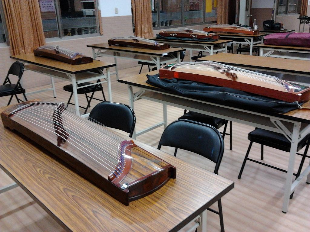 台北古箏老師,古箏團體班,社區古箏推廣