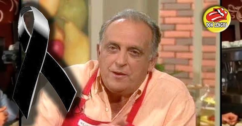 Falleció el famoso cocinero venezolano Hector Soucy