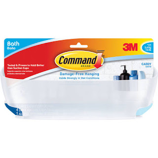 3M (BATH11-ESBU) Shower Caddy with Water-Resistant Strips, BATH11-ESBU [You are purchasing the Min order quantity which is 2 PACKAGE]