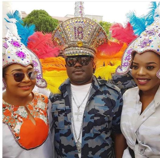 Checkout these stunning photos of Hilda Dokubo, Rachel Oniga and Empress Njamah at Calabar Carnival