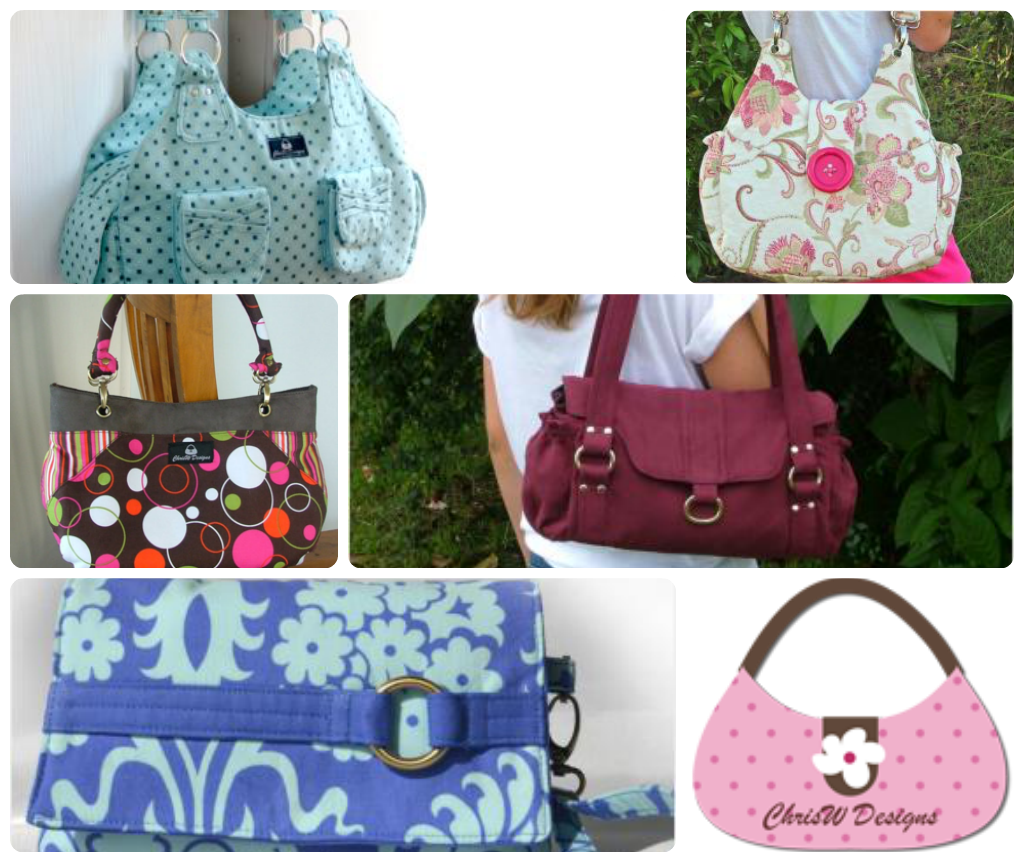 Design Your Own Swag Contest Ends Today: Sew Can Do: ChrisW Designs Bag Patterns Giveaway, Special