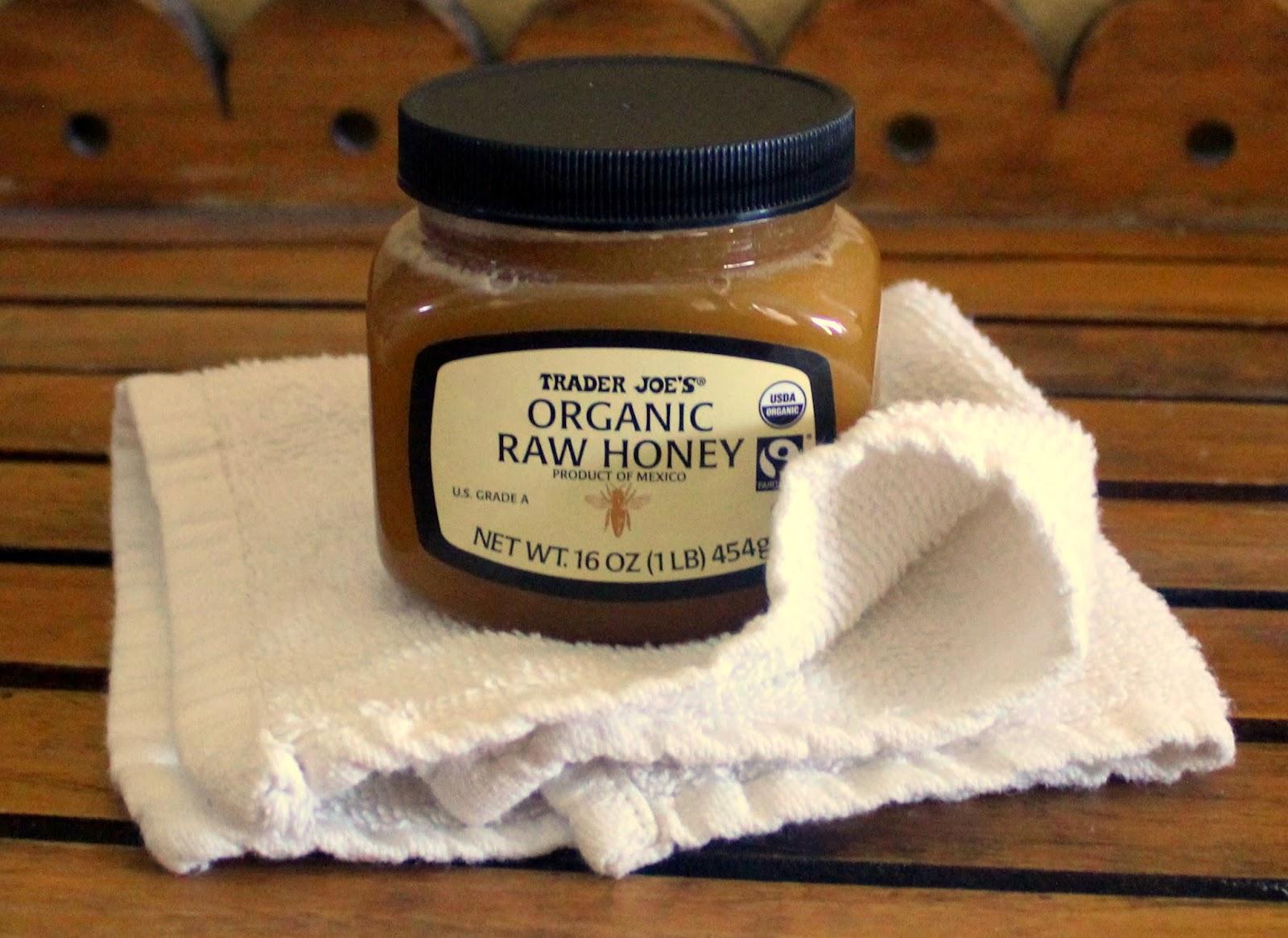 trader joe's raw organic honey