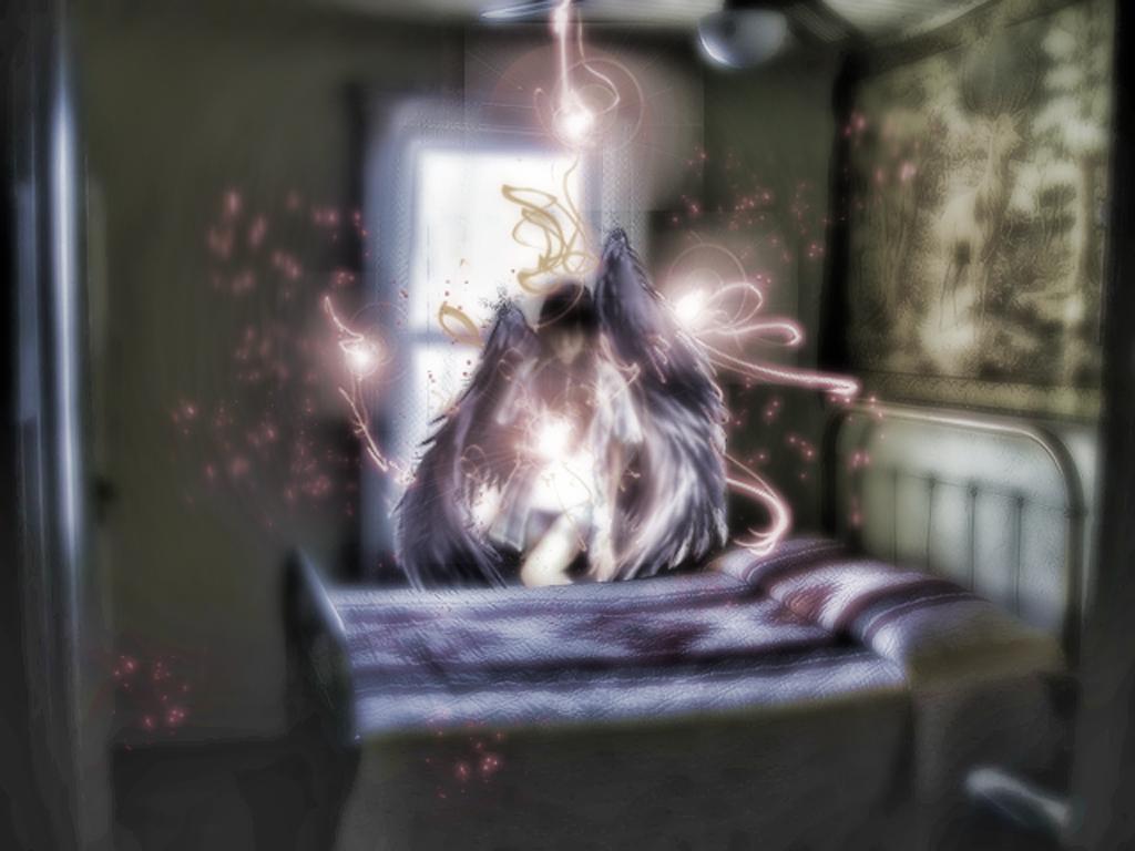 scary image of angel - photo #35