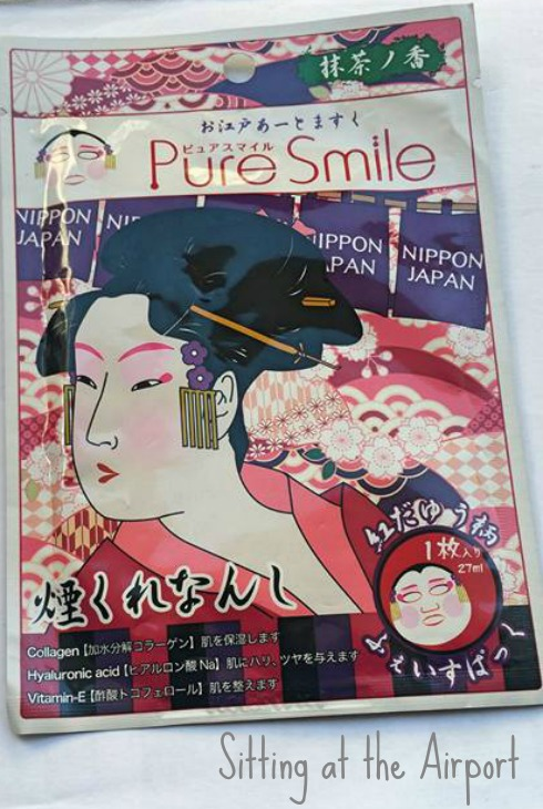 Red Dayu Art Facial Mask - Pure Smile