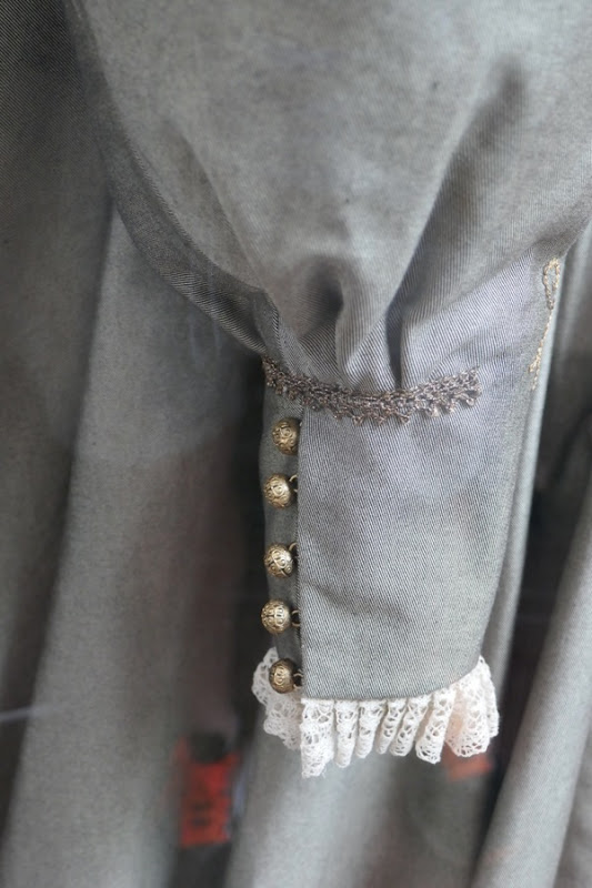 Mary Queen Scots Queen Elizabeth I costume cuff detail