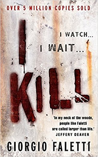 The cover of Giorgio Faletti's  debut thriller, I Kill