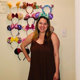 Disney, Disney fashion, #DisneyStyle, #MinnieStyle, Minnie ears, #EarsOutsidetheParks, fashion challenge, Disney fashion challenge, Ariel Minnie Ears