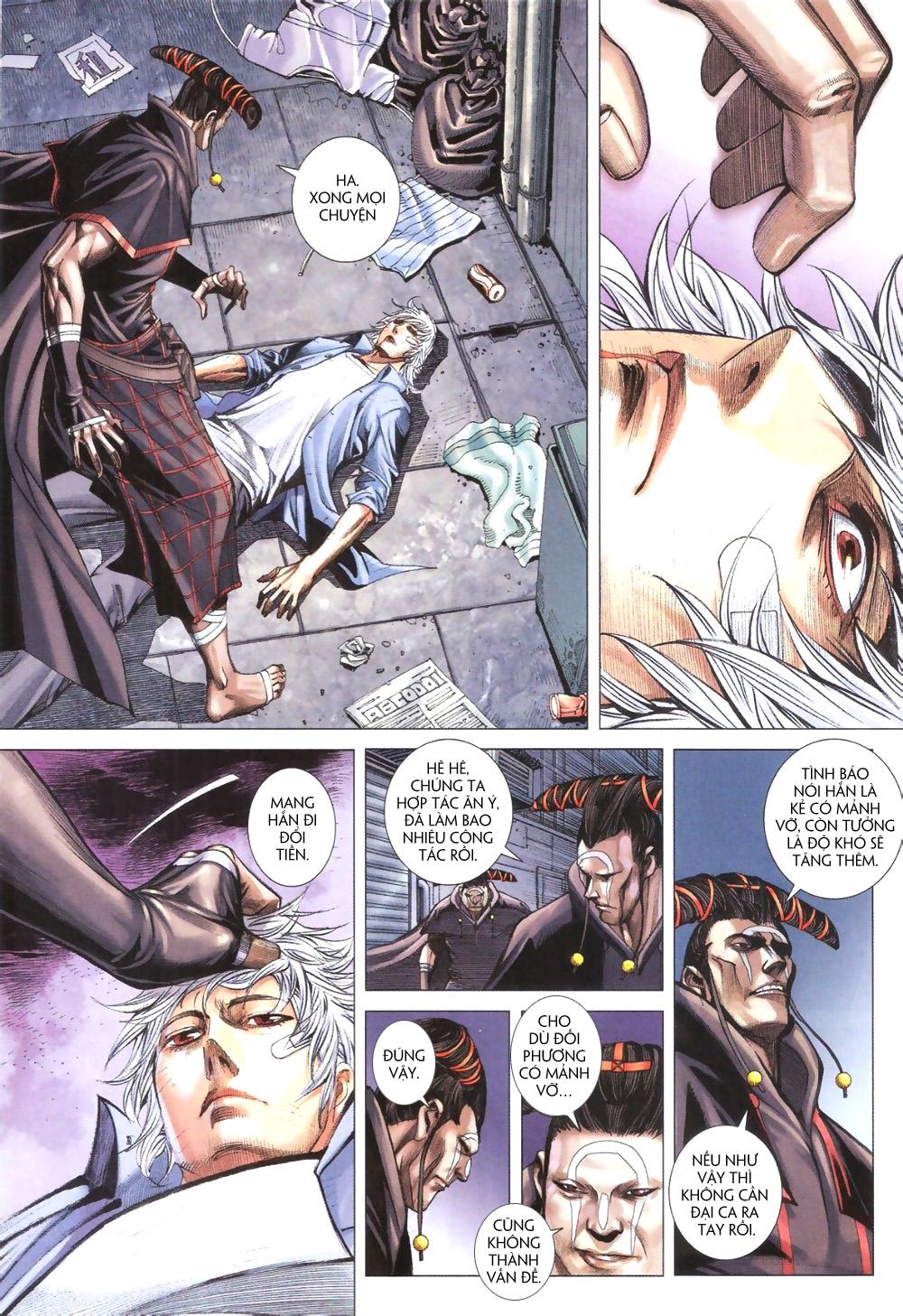 Đại Quân Phiệt chap 9 trang 13