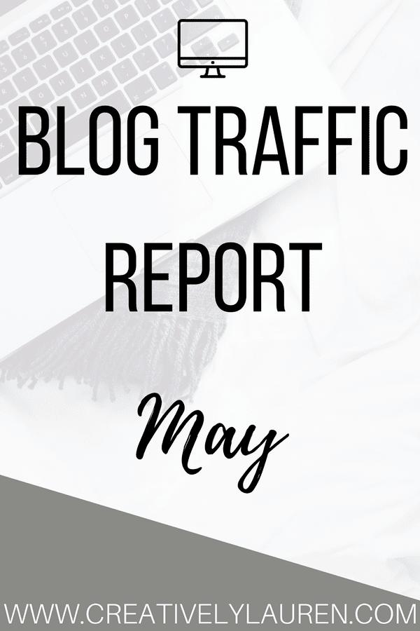 May 2017 Blog Traffic Report