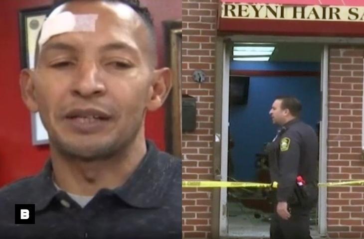 Encapuchado ataca a tiros barbería dominicana en Massachusetts
