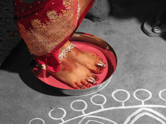 toe rings ayurveda