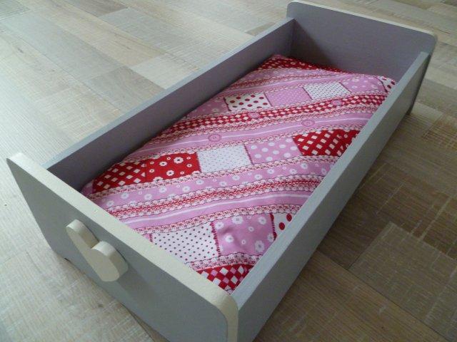 Genoeg Marly Design: Poppenbedje / Doll crib #QJ08