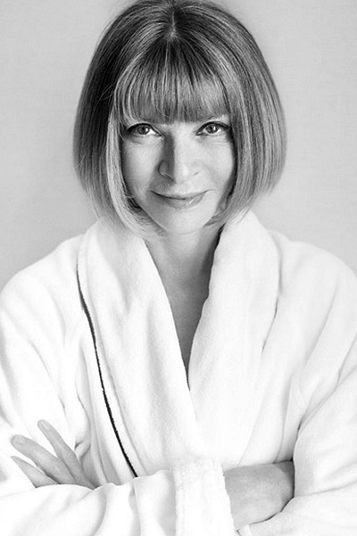 Anna Wintour of this photo Mario Testino