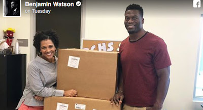NFL star Benjamin Watson donates ultrasound machines to save lives