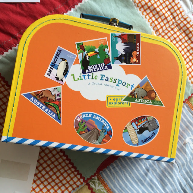 Little Passports review, suitcase