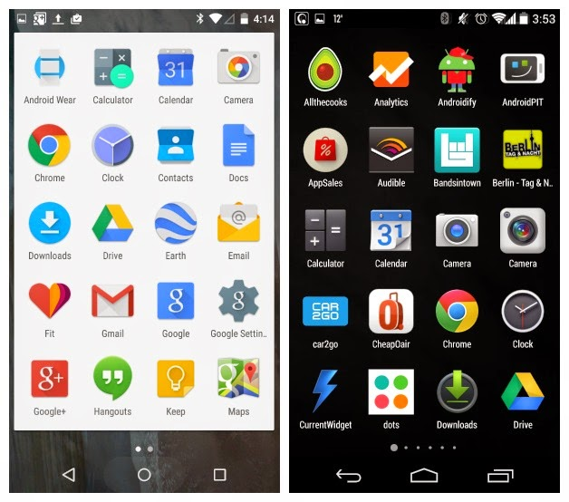Android Lollipop vs Android KitKat: the major changes  !! | TECH BUZZ