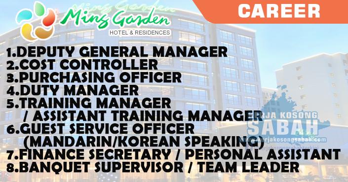Job Vacancy - Career Opportunities | MING GARDEN HOTEL