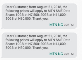 MTN SME Data Price Increase: What all Sellers and Buyers Must Know