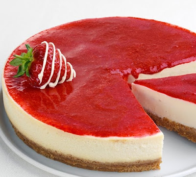 Resep Strawberry Cheese Cake Yang Mudah Lembut Sederhana