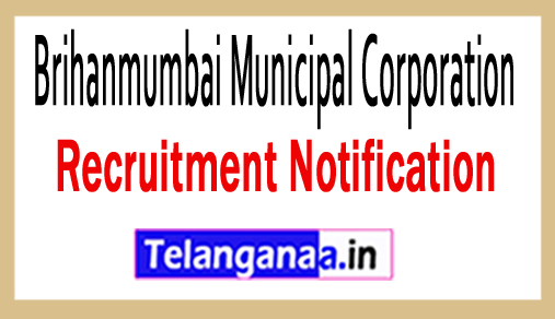 Brihanmumbai Municipal Corporation BMC Recruitment