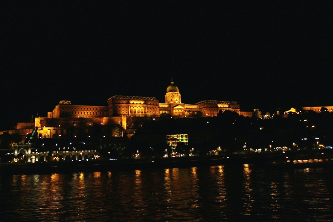 Danube River night cruise