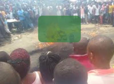 female kidnapper burnt to death ilorin