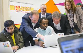 Jerman yang menyediakan pendidikan dan teknologi untuk pengungsi Google Sumbangkan 25.000 Laptop Untuk Pengungsi di Jerman