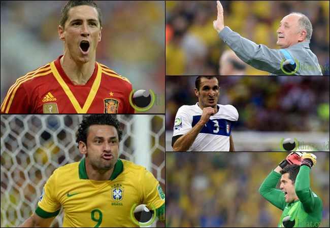 13 Tim Sepakbola Terbaik di Piala Konfederasi 2013 versi Bolanet