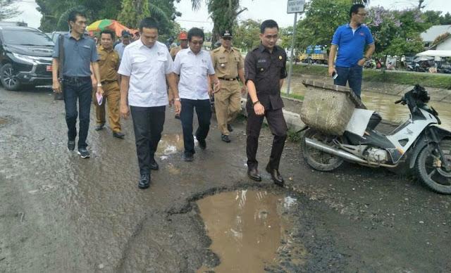 47 M Untuk Pembangunan Jalan Prioritas  Di Oku Timur