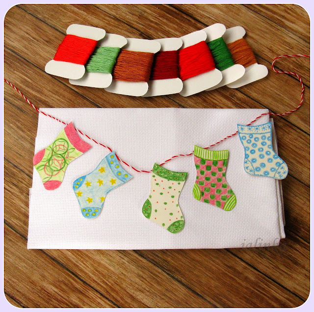 Dimensions Holiday Stocking  Ornaments designed by Brian Jackins