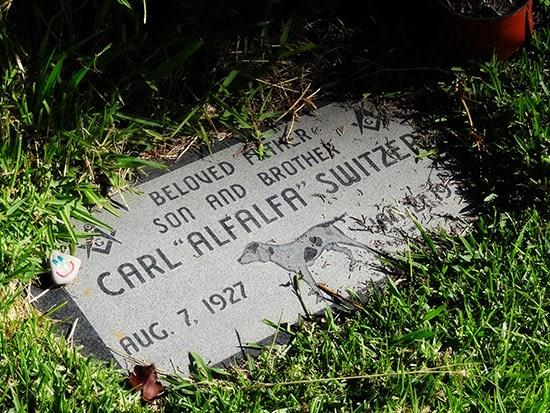 Hollywood Forever Cemetery Alfalfa