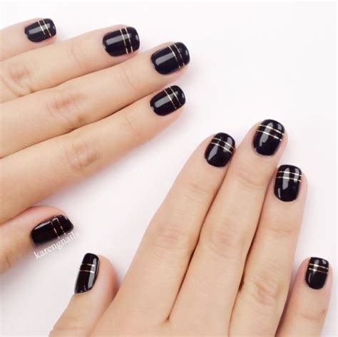 Best 101+ Elegant Black Nail Art Designs
