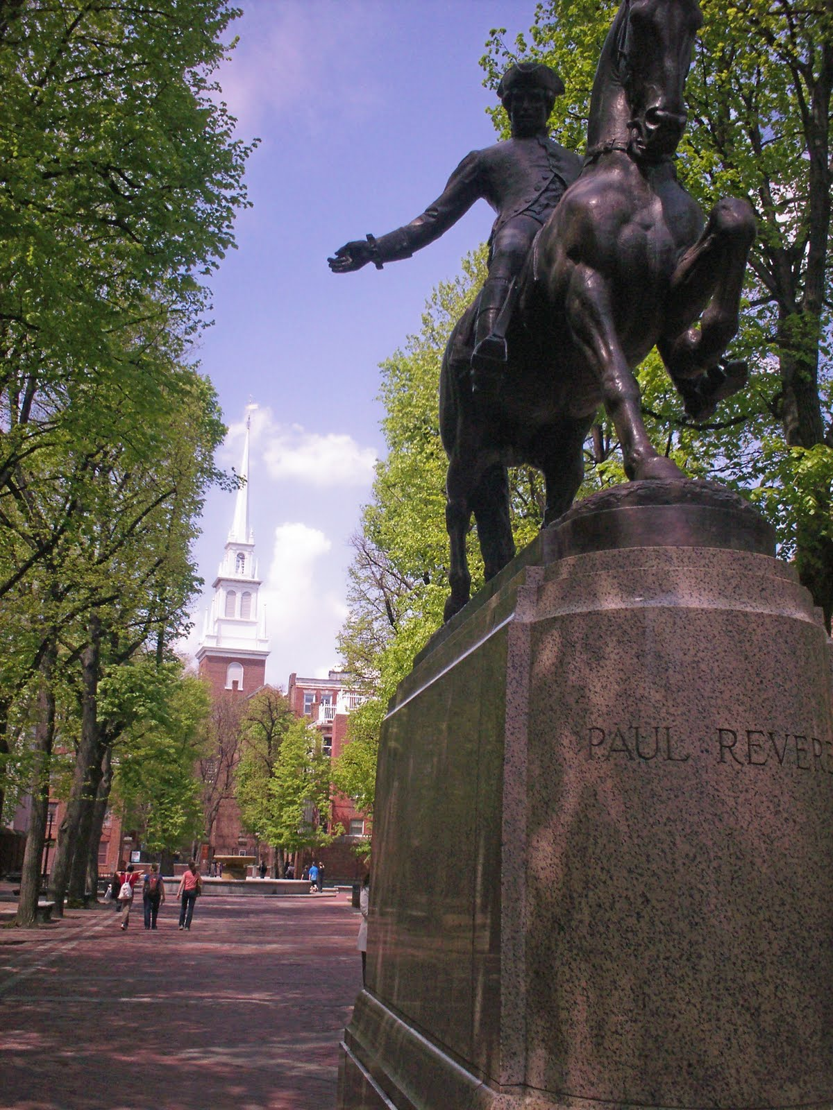 New England Travels Paul Revere S Ride