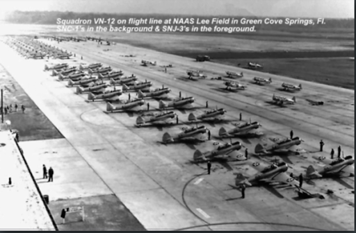 11 September 1940 worldwartwo.filminspector.com US Naval Air Station Lee Field Green Cove Springs Florida