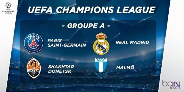 Tabela da Champions League 2015-2016