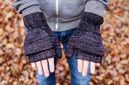 In Color Order Knit Mittens