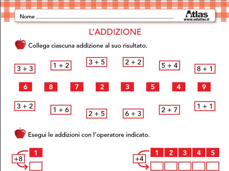 Exceptionnel Guamodì Scuola: Schede operative di matematica per la scuola  LF75