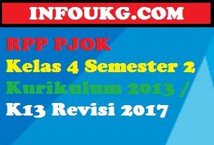 RPP PJOK Kelas 4 Semester 2
