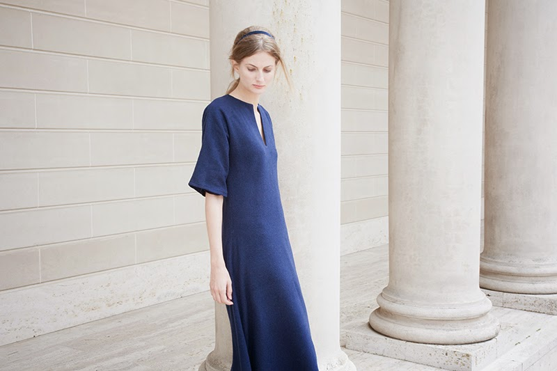 alyssa nicole fall 2014, alyssa nicole designer, san francisco, san francisco fashion, lookbook, couture, kimono, kimono gown, navy gown, navy dress, wool dress, wool maxi dress, wool kimono,