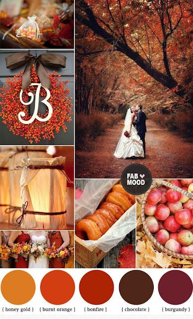 ideas para bodas de otoño